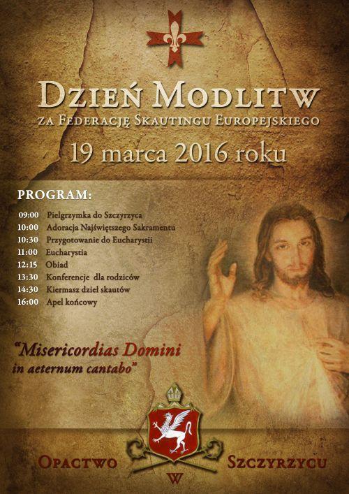 plakat_Dzień Modlitw za FSE 2016